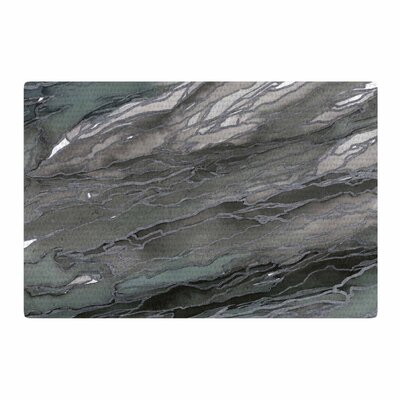 Ebi Emporium Agate Magic Watercolor Gray/Tan Area Rug Rug Size: 2 x 3