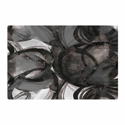 Ebi Emporium The Final Eclipse Painting Tan/Gray Area Rug Rug Size: 4 x 6