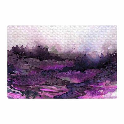 Ebi Emporium The Long Road 5 Watercolor Purple/Lavender Area Rug Rug Size: 4 x 6