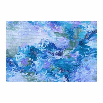 Ebi Emporium When We Were Mermaids 15 Watercolor Blue/Lavender Area Rug Rug Size: 4 x 6
