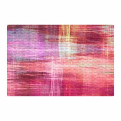 Ebi Emporium Blurry Vision 4 Painting Magenta/Pink Area Rug Rug Size: 4 x 6