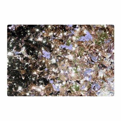 Ebi Emporium Cocoa Nebula Painting Brown/Tan Area Rug Rug Size: 2 x 3