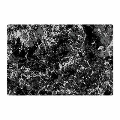 Jacqueline Milton Stony Painting Black/Gray Area Rug Rug Size: 2 x 3