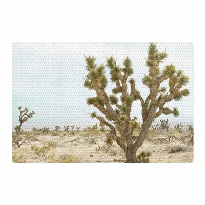 Kristi Jackson Joshua Tree Photography Brown/Blue Area Rug Rug Size: 2 x 3