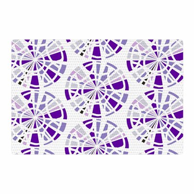 Patternmuse Precious Amethyst Lavender Illustration Purple Area Rug Rug Size: 4 x 6