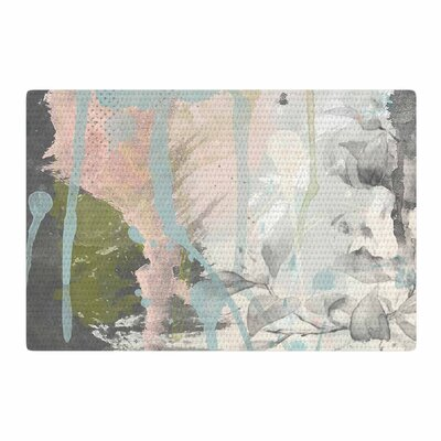 Li Zamperini True Mixed Media Pastel/Gray Area Rug Rug Size: 2 x 3