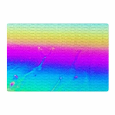 Liz Perez Soul Digital Pastel/Indigo Area Rug Rug Size: 4 x 6