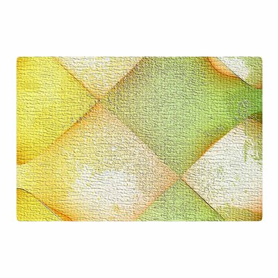 Mimulux Patricia No Citrus Grunge Pastel Digital Yellow Area Rug Rug Size: 2 x 3