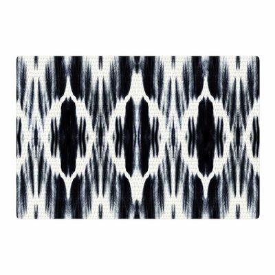 Nika Martinez Boheme Ikat Black/White Area Rug Rug Size: 2 x 3