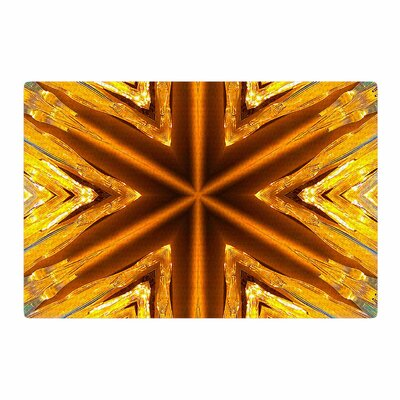 Philip Brown Star Icicles Gold Area Rug Rug Size: 4 x 6