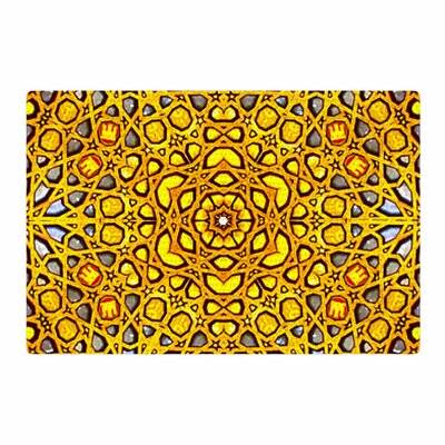 Philip Brown Golden Kaleidoscope Gold/Yellow Area Rug Rug Size: 4 x 6