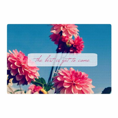 Robin Dickinson the Best is yet to Come Photography Pink/Blue Area Rug Rug Size: 2 x 3