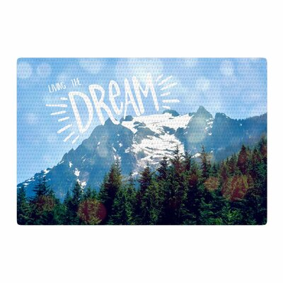 Robin Dickinson The Dream Photography Blue/Green Area Rug Rug Size: 2 x 3