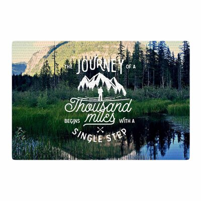 Robin Dickinson The Journey Photography Blue/Green Area Rug Rug Size: 4 x 6