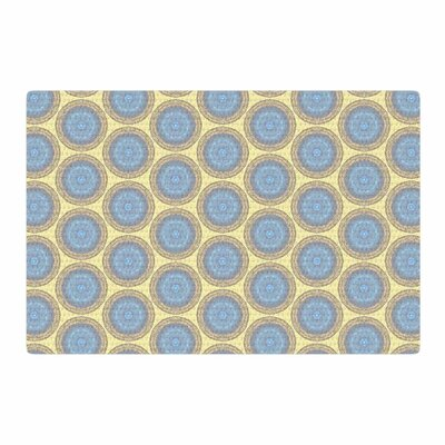 Rachel Watson Brocade Yellow/Gray Area Rug Rug Size: 2 x 3