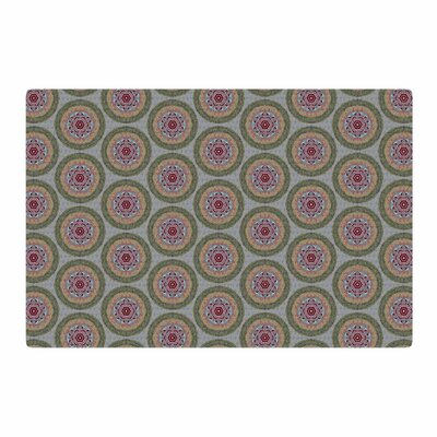 Rachel Watson Lucrezia Borgia Brocade Purple/Green Area Rug Rug Size: 4 x 6