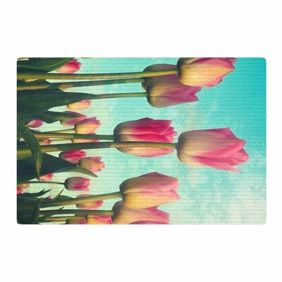 Sylvia Cook Standing Tall Photography Pink/Blue Area Rug Rug Size: 2 x 3