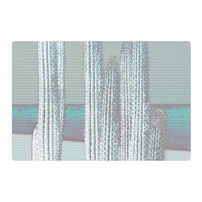 Suzanne Carter Digital Blue/Gray Area Rug Rug Size: 2 x 3