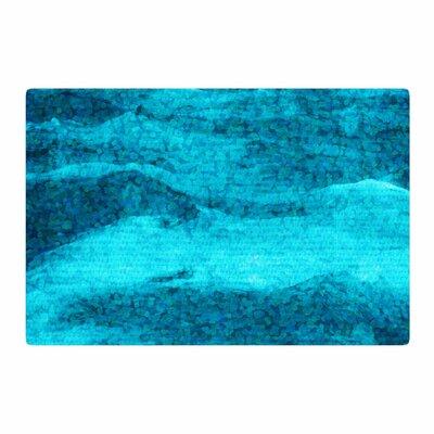 Suzanne Carter Confetti Ocean Digital Blue/Teal Area Rug Rug Size: 2 x 3