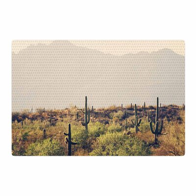 Sylvia Coomes Desert Landscape 5 Photography Brown/Green Area Rug Rug Size: 2 x 3