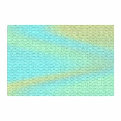 Sylvia Coomes Sea Swirl Aqua/Green Area Rug Rug Size: 4 x 6