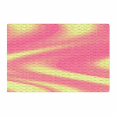 Sylvia Coomes Sherbert Swirl Pink/Yellow Area Rug Rug Size: 4 x 6
