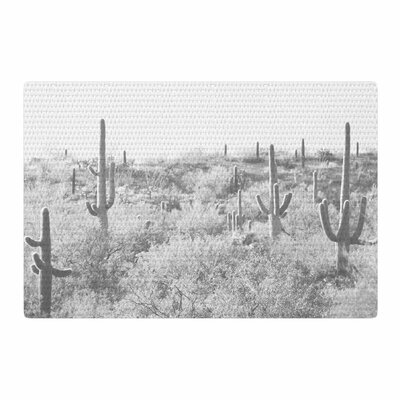 Sylvia Coomes Cactus Photography Black/White Area Rug Rug Size: 2 x 3