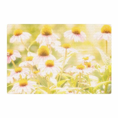 Sylvia Coomes Fields Of Flowers Photography Yellow/Green Area Rug Rug Size: 2 x 3
