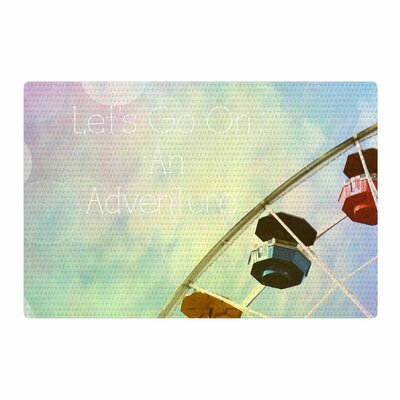 Sylvia Coomes Lets Go On An Adventure Photography Blue/Green Area Rug Rug Size: 4 x 6