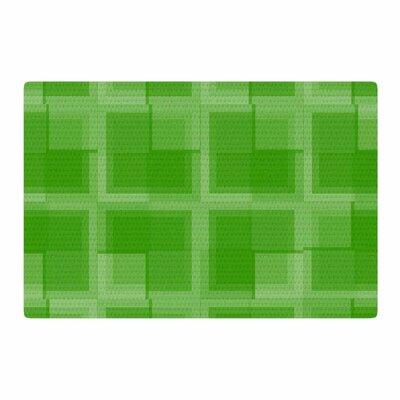 Trebam Menta V.2 Digital Modern Green/ Area Rug Rug Size: 4 x 6
