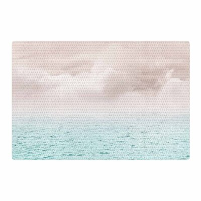 Viviana Gonzalez Pastel Vibes 40 - Serenity Photography Beige/Mint Area Rug Rug Size: 2 x 3