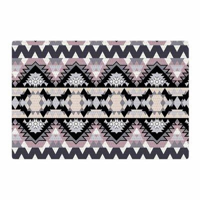 Victoria Krupp Nordic Ice Digital Black/Pastel Area Rug Rug Size: 4 x 6