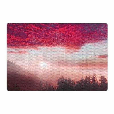 Viviana Gonzalez Pastel Vibes 28 Photography Pink/Brown Area Rug Rug Size: 2 x 3