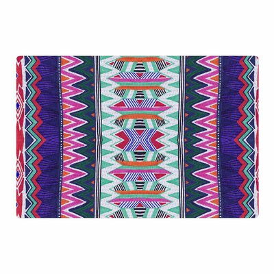 Vasare Nar Folk Tribal Ethnic Tribal Purple/Pink Area Rug Rug Size: 2 x 3