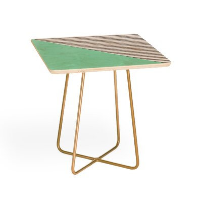 Allyson Johnson Stripes End Table