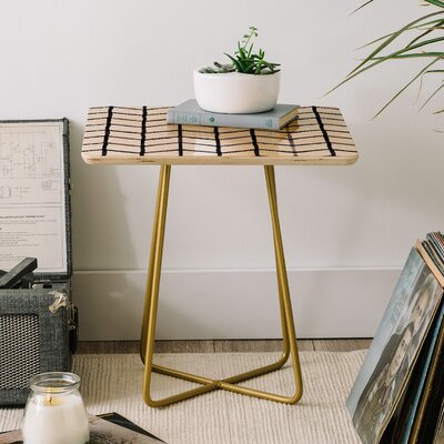Wonder Forest Grid Lock End Table