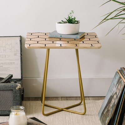 Allyson Johnson Comb End Table