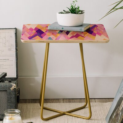 Geo Summer End Table