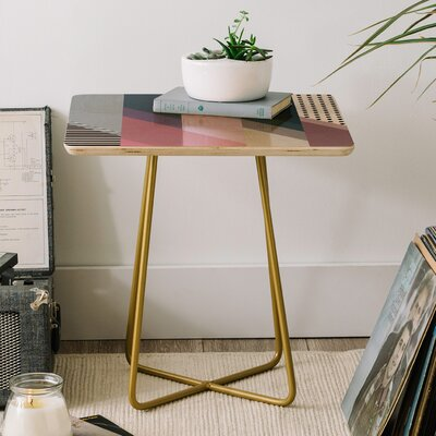 Geometry Blocking 9 End Table