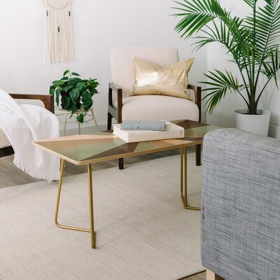 Caroline Okun Champagne Coffee Table