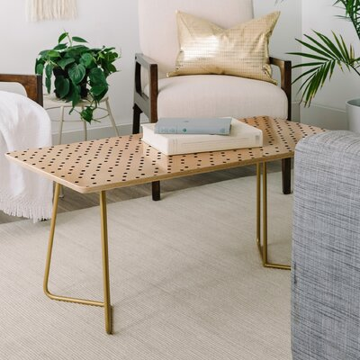 Allyson Johnson Tiny Polka Dots Coffee Table