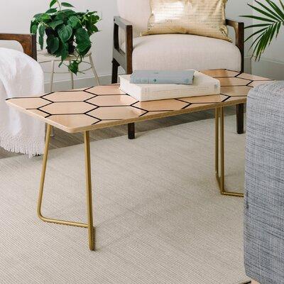 Allyson Johnson Honey Comb Coffee Table