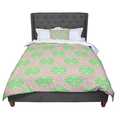 Mydeas Diamond Illusion Damask Comforter Size: King