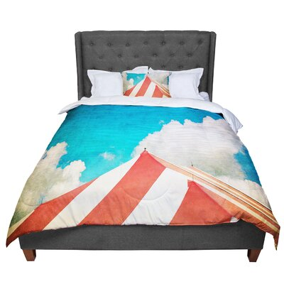 Ann Barnes The Big Top Comforter Size: Queen