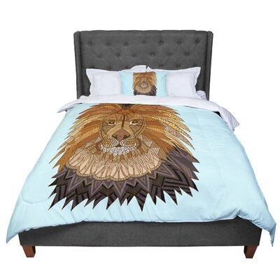 Art Love Passion Lion Comforter Size: Queen