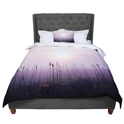 Angie Turner Sunrise Cattails Comforter Size: Queen
