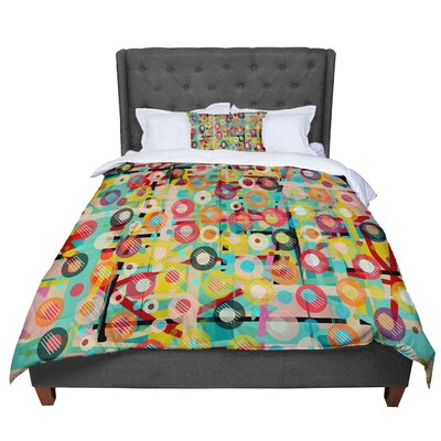 Bri Buckley Gift Wrapped Crazy Comforter Size: Twin