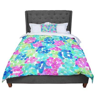 Beth Engel Flower Garden Comforter Size: Queen