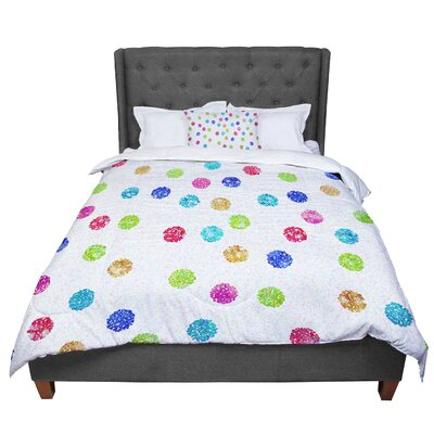Beth Engel Seeing Dots Comforter Size: King