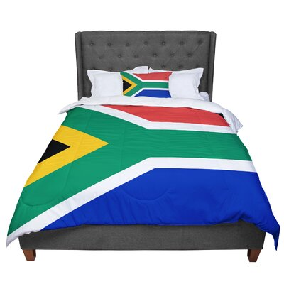 Bruce Stanfield South Africa II Comforter Size: King